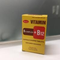 Vitamin B Complex+ B12 100s