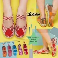 kiddo JB1-3 anak flat ORI sepatu rajut IMPORT