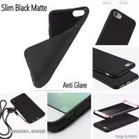 Slim Black Matte Lenovo A6600 Plus A6600+ 5 inchi Soft Case Anti Glare