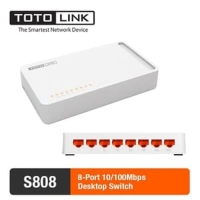Totolink S808 switch 8port 10/100mbps