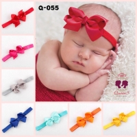 Bandana Bayi Anak Pita Kecil Warna-Warni Bando   Baby Headband Import