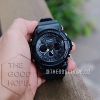 Jam Tangan Pria   Cowok Digitec Original Double Time Full Black f3afe063b5