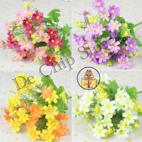Bunga Krisan Mini - Dekorasi bunga plastik - Daisy artificial flower