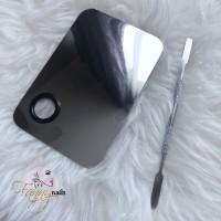 Pallet mix nailart nail art palet alumunium free spatula