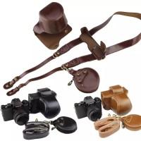 Tas Kamera/leather case/camera case Fujifilm XT100
