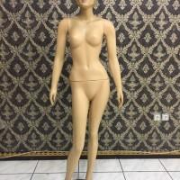 Patung Manekin Full Body Wanita Muka Rambut dimake Up SECOND like NEW