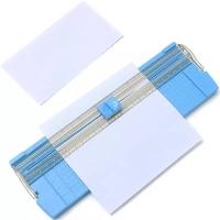 NEW! Paper Trimmer Cutter A4/A5 - BLUE / Pemotong Kertas