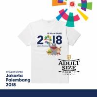 Jual Asian games 2018 Jakarta Palembang / kaos Asian Games / kaos Jokowi Murah