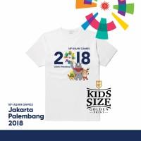Jual Asian games 2018 Jakarta Palembang / kaos Jokowi size anak Murah