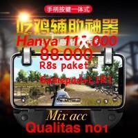 L1 R1 + Gamepad PAKET R8 PUBG l1r1 Sharpshooter fire button Trigger R8