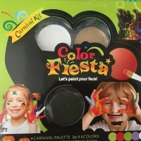 Color fiesta / Carnival kit / Face painting 6 warna.