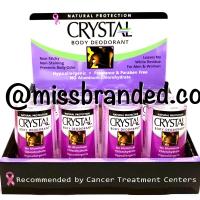 Crystal Body Deodorant Stick Travel Size - 40gram
