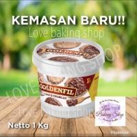 PROMO GOLDENFIL Selai CHOCOMALTINE 1KG original Chocolate CHOCO CRUNCH