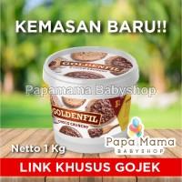 PROMO GOLDENFIL CHOCO CRUNCHY CHOCOLATE 1KG SELAI COKLAT CRUNCHY GOJEK