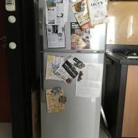 Kulkas LG 2 pintu bekas