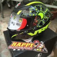 Helm Fullface AGV K1 FLavum VR46 DOT non SNI ori Italy size M L XL