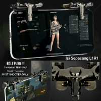 BOLT PUBG Fast Fire Sharp Shooter Tombol Klik L1R1 Chicken King Gaming