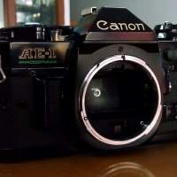 Kamera Analog BODY ONLY Canon AE-1 Program Black Edition