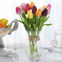 Bunga Plastik Tulip - Real Touch