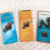 GODIVA Chocolate Bars 90 gr
