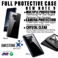 Crystal Clear Case Note 9 Casing Anti Crack Hardcase Samsung Galaxy