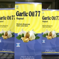 Minyak Bawang Putih 100 Kapsul - izin BPOM Resmi - Halal MUI