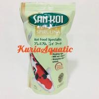 Sankoi / San koi Spirulina Medium / M Pakan / Makanan ikan koi 1kg