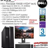 DELL Precision T5820 MT Intel Xeon W-2123/16GB/1TB/VGA 5 GB/Win10Pro