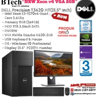 DELL Precision T3620 MT Intel Xeon E3-1270v6/8GB/1TB/VGA 2GB/Win10Pro