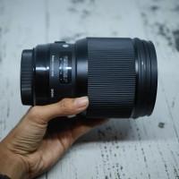 Lensa canon sigma 85mm f14 for canon