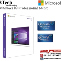 Microsoft Windows 10 Professional 64 bit Original License
