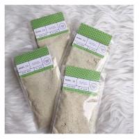 Masker organik NamoID variant Green Tea (untuk kulit BERJERAWAT)