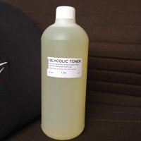 TONER GLYCOLIC 1 liter PENGELUPASAN / AHA GLOWING KINCLONG