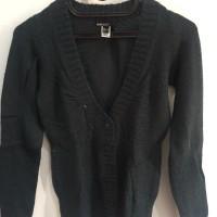 Outwear Sweater Wol Mango Jaket Wanita Musim dingin cardigan outer cw