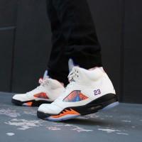 Nike Air Jordan 5 Mid International Flight Sneakers Sepatu Basket Pria