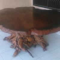 Meja GemboL Kayu Bintangur