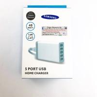 CHARGER MULTI 5 PORT USB UNTUK SEMUA MERK HP / SMARTPHONE/ IPHONE