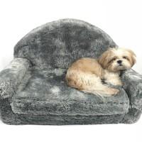 Grey Sofa Bed - Pet Cat Dog Bed / Kasur Tidur Anjing Kucing Hewan