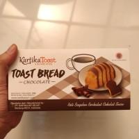 Kartika Toast Bread Rasa Chocolate Roti Bagelan Berbalut Cokelat Susu