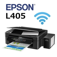 Printer Epson L405 All in One Wifi Direct Tinta Tabung Garansi Resmi 2
