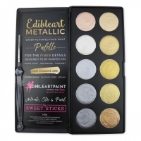 Metallic 10 Pan Palette by Sweet Sticks
