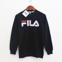 Fila Crewneck/Sweater Classic Big Logo Black