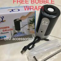 Q2 Pompa galon elektrik usb charge ( rechargeable ) q2-668