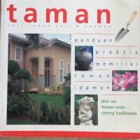 Buku 'Taman' seri rumah asri dan nyaman