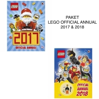 PAKET BUKU LEGO OFFICIAL ANNUAL 2017 & 2018