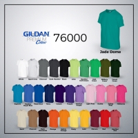 Jual Kaos Polos Gildan Hitam Premium Cotton Murah