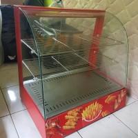Harga fomac showcase food warmer showcase penghangat makanan   DEMO GRABTAG