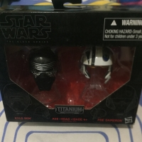 Star Wars Kylo Ren - Poe Dameron Helmet The Black Series Hasbro