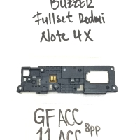 Spare part Hp / Buzzer Fullset Xiaomi Redmi Note 4X / Speaker Dering