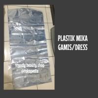 Plastik Mika Tebal Pembungkus Dress/Gamis 55cm x 130 cm